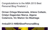 VICMADZ.com, a finalist in the Mindanao Blog Awards 2013