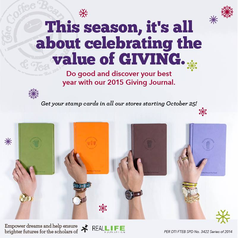 Coffee Bean's Giving Journals