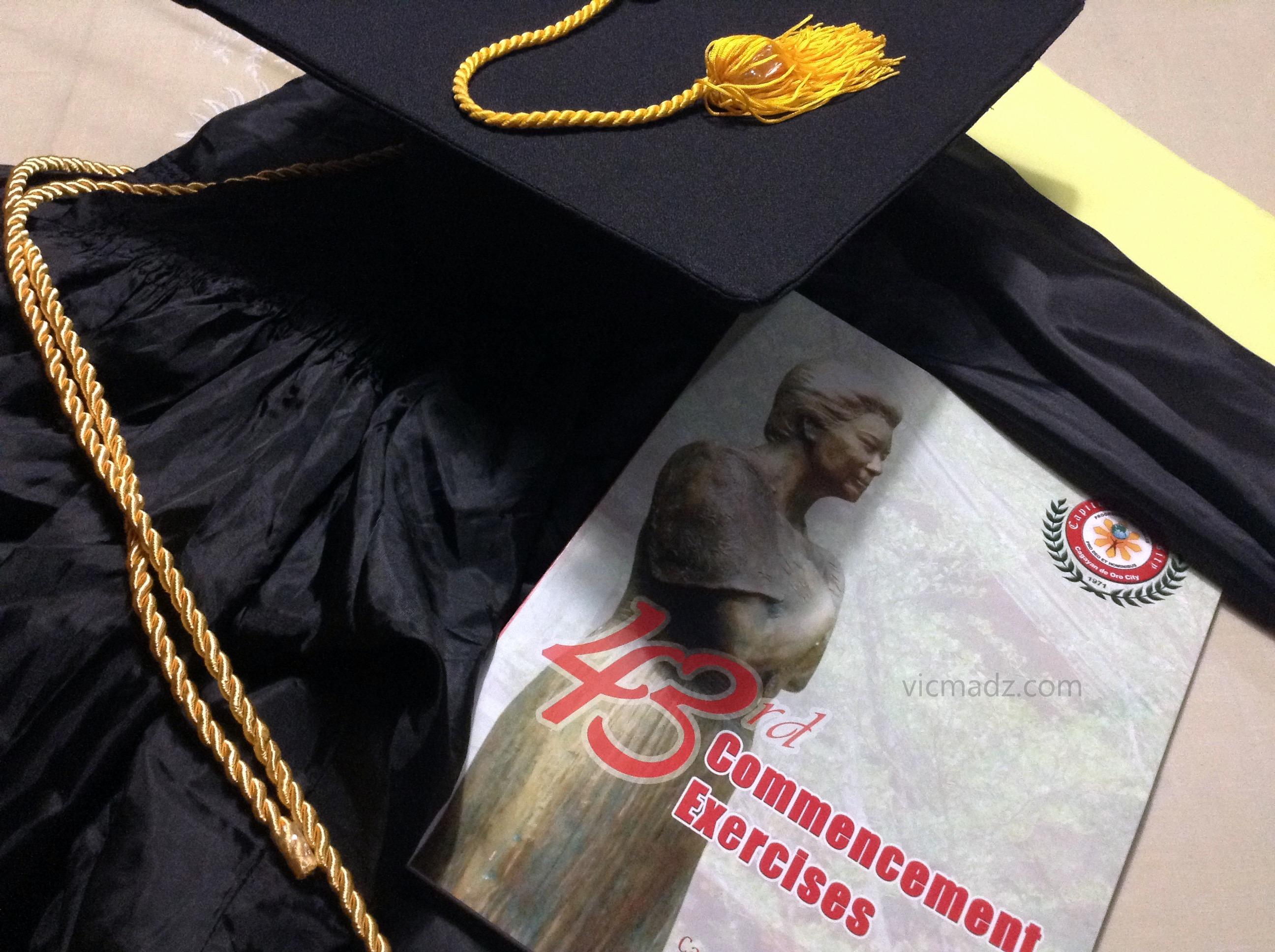 Capitol University Graduation