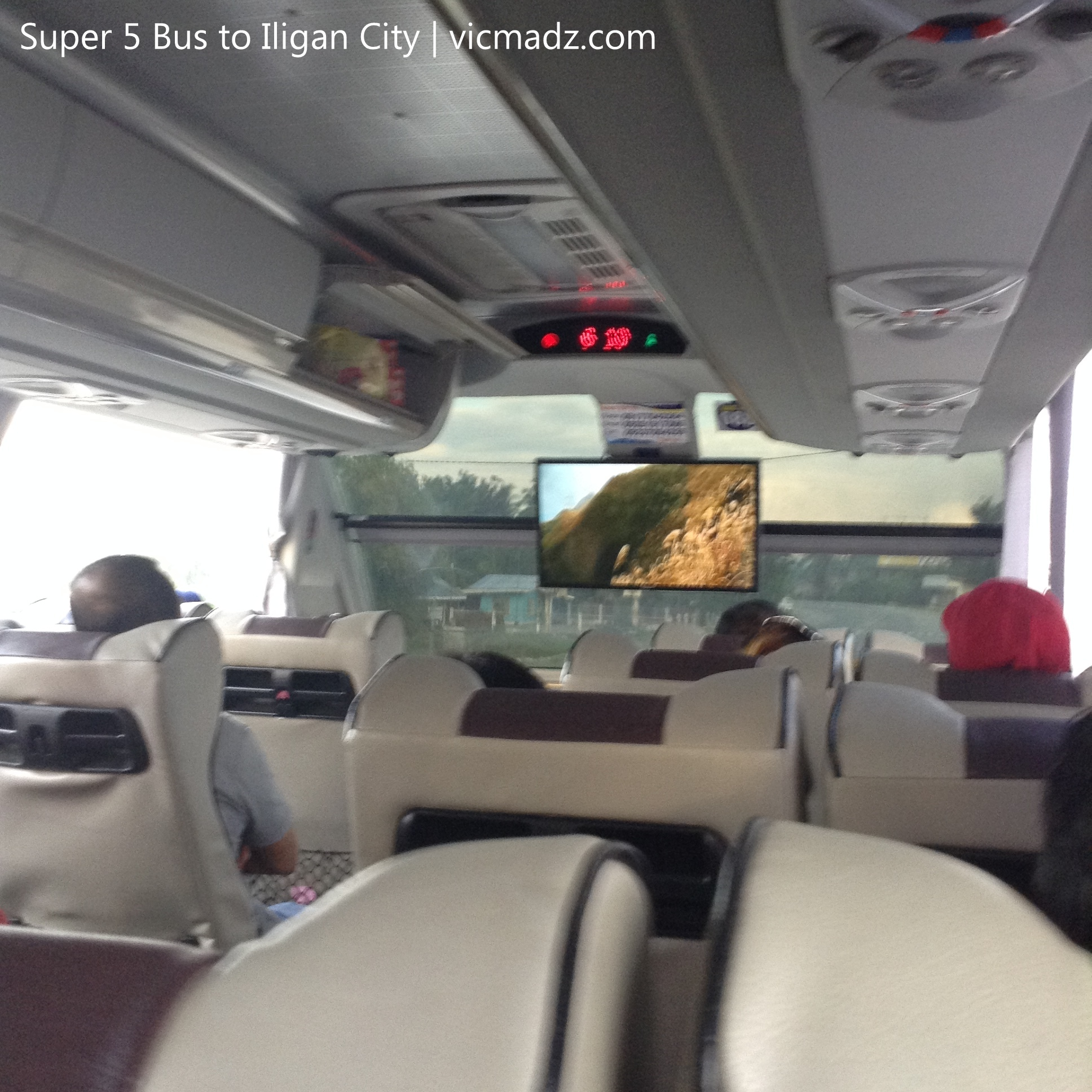 Super 5 Bus to Iligan City