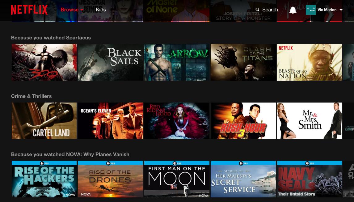 Netflix-Browser