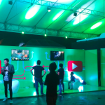 Huge life size digi setups designed by Smart - super kewl!